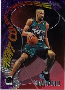 1997-98 Topps Chrome Season's Best #SB11 Grant Hill