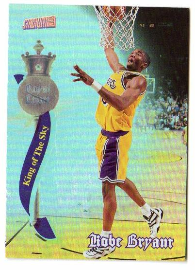 1997-98 Stadium Club Royal Court #RC4 Kobe Bryant