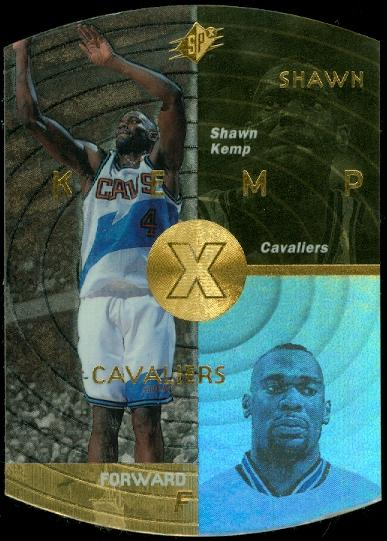 1997-98 SPx Gold #9 Shawn Kemp
