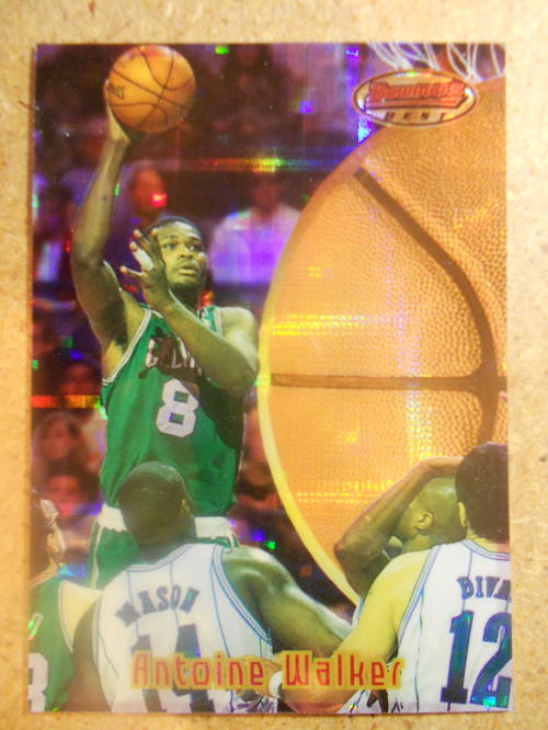 1997-98 Stadium Club Bowman's Best Previews Atomic Refractors #BBP7 Antoine Walker