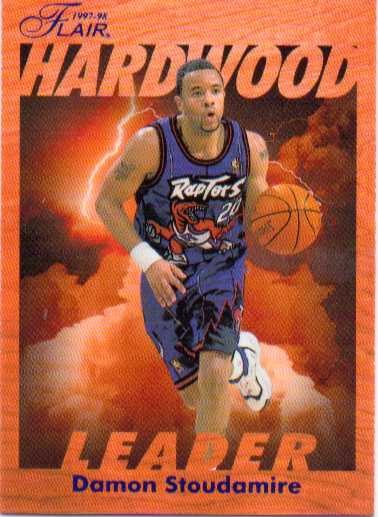 1997-98 Fleer Flair Hardwood Leaders #26 Damon Stoudamire