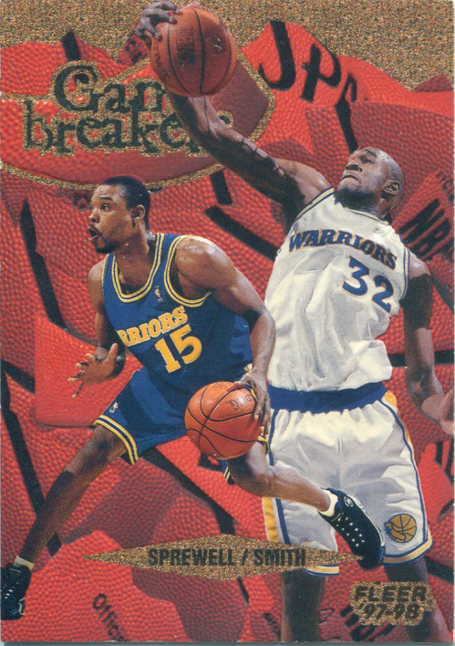 1997-98 Fleer Game Breakers #3 Joe Smith/Latrell Sprewell