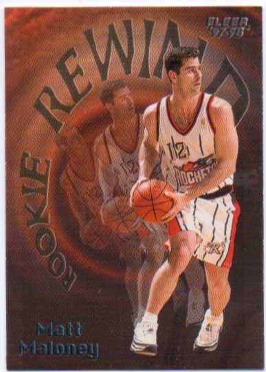 1997-98 Fleer Rookie Rewind #7 Matt Maloney