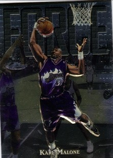 1997-98 Finest Embossed #127 Karl Malone S