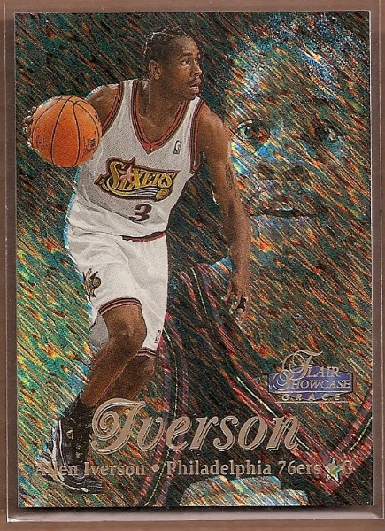 1997-98 Flair Showcase Row 1 #3 Allen Iverson