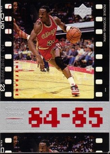 1998 Upper Deck Michael Jordan Living Legend #2 Michael Jordan TF 1984-85