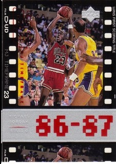 1998 Upper Deck Michael Jordan Living Legend #10 Michael Jordan TF 1987-88