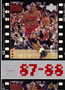 1998 Upper Deck Michael Jordan Living Legend #18 Michael Jordan TF 1988-89