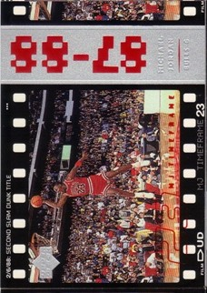 1998 Upper Deck Michael Jordan Living Legend #24 Michael Jordan TF 1988-89