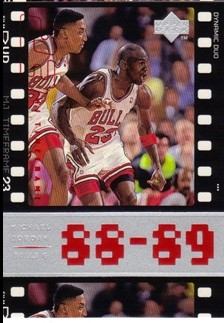 1998 Upper Deck Michael Jordan Living Legend #27 Michael Jordan TF 1989-90