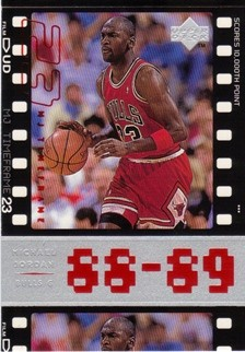 1998 Upper Deck Michael Jordan Living Legend #29 Michael Jordan TF 1989-90