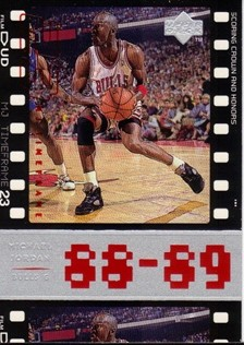1998 Upper Deck Michael Jordan Living Legend #30 Michael Jordan TF 1989-90