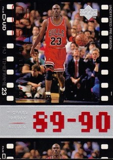 1998 Upper Deck Michael Jordan Living Legend #32 Michael Jordan TF 1989-90
