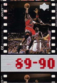 1998 Upper Deck Michael Jordan Living Legend #39 Michael Jordan TF 1990-91