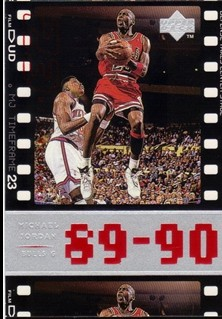 1998 Upper Deck Michael Jordan Living Legend #40 Michael Jordan TF 1990-91