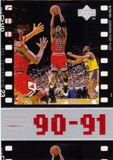 1998 Upper Deck Michael Jordan Living Legend #47 Michael Jordan TF 1991-92