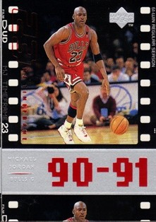1998 Upper Deck Michael Jordan Living Legend #48 Michael Jordan TF 1991-92