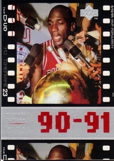1998 Upper Deck Michael Jordan Living Legend #50 Michael Jordan TF 1991-92