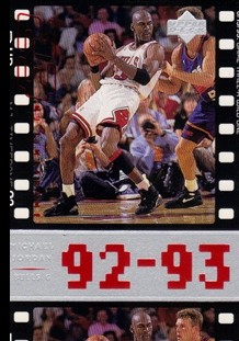 1998 Upper Deck Michael Jordan Living Legend #63 Michael Jordan TF 1994-95