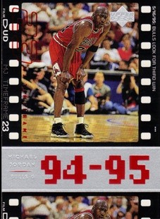 1998 Upper Deck Michael Jordan Living Legend #74 Michael Jordan TF 1994-95
