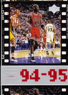 1998 Upper Deck Michael Jordan Living Legend #75 Michael Jordan TF 1994-95