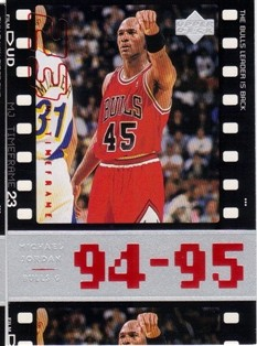 1998 Upper Deck Michael Jordan Living Legend #78 Michael Jordan TF 1995-96