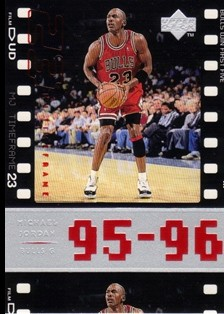 1998 Upper Deck Michael Jordan Living Legend #79 Michael Jordan TF 1995-96