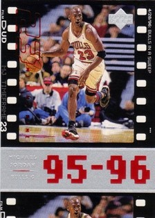 1998 Upper Deck Michael Jordan Living Legend #81 Michael Jordan TF 1995-96