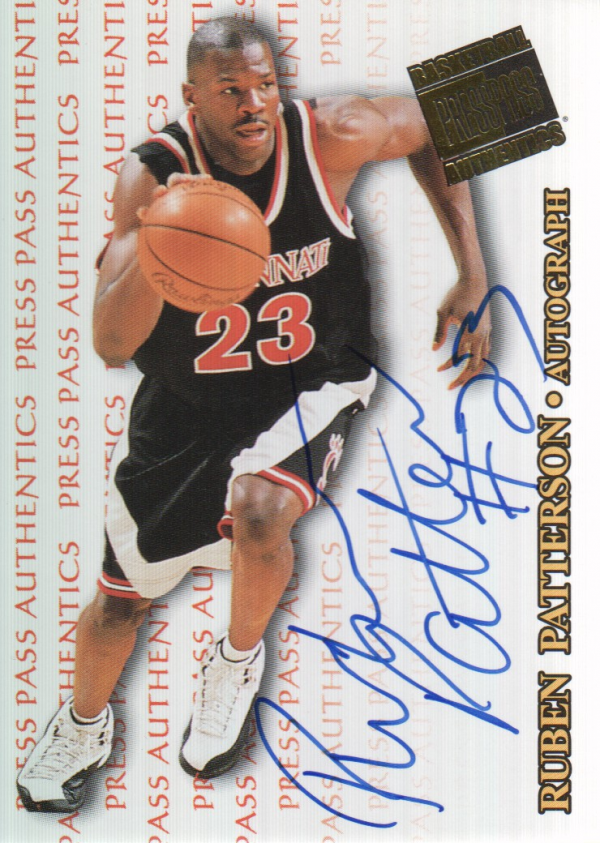 1998 Press Pass Authentics Autographs #23 Ruben Patterson