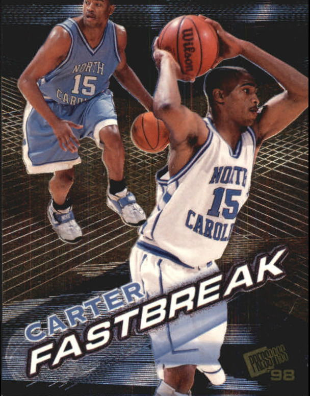 1998 Press Pass Fastbreak #FB4 Vince Carter