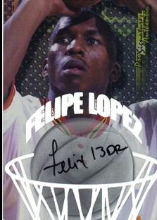 1998 Collector's Edge Impulse Pro Signatures #6 Felipe Lopez