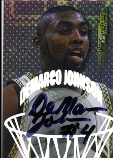 1998 Collector's Edge Impulse Pro Signatures #17 DeMarco Johnson