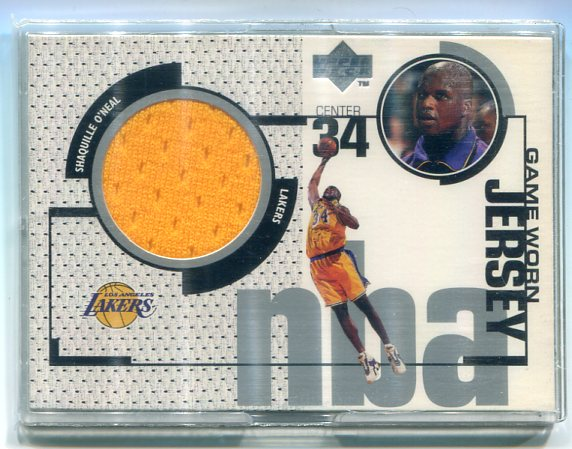1998-99 Upper Deck Game Jerseys #GJ4 Shaquille O'Neal