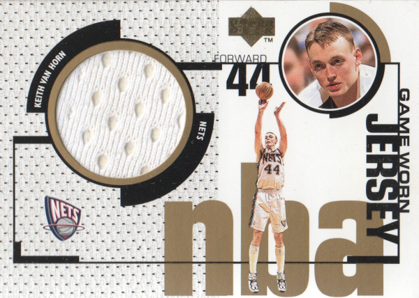 1998-99 Upper Deck Game Jerseys #GJ32 Keith Van Horn