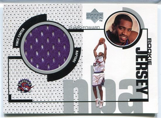 1998-99 Upper Deck Game Jerseys #GJ43 Vince Carter