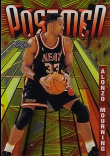 1998-99 Topps Chrome Season's Best #SB23 Alonzo Mourning