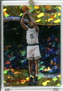 1998-99 Bowman's Best Atomic Refractors #47 Ron Mercer
