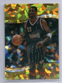 1998-99 Bowman's Best Atomic Refractors #85 Scottie Pippen
