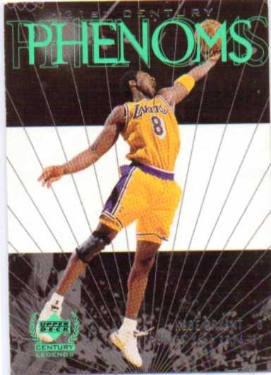 1999 Upper Deck Century Legends #51 Kobe Bryant