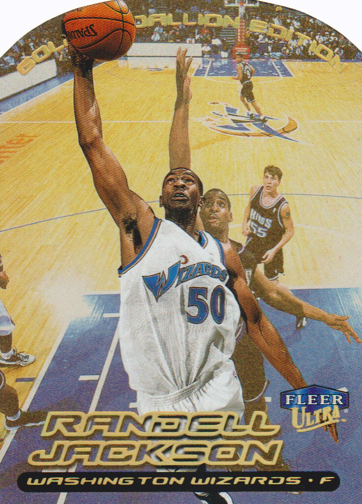 1999-00 Ultra Gold Medallion #2 Randell Jackson