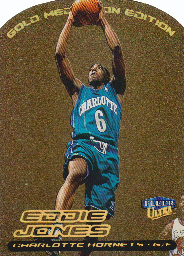 1999-00 Ultra Gold Medallion #8 Eddie Jones