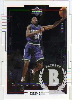 1999-00 Upper Deck BioGraphics Level 1 #B4 Ray Allen