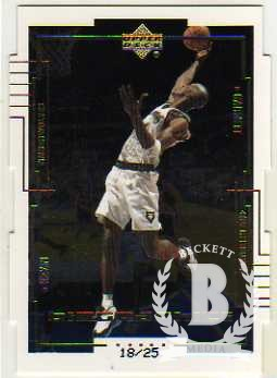 1999-00 Upper Deck BioGraphics Level 2 #B15 Kevin Garnett