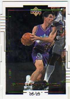 1999-00 Upper Deck BioGraphics Level 2 #B27 John Stockton