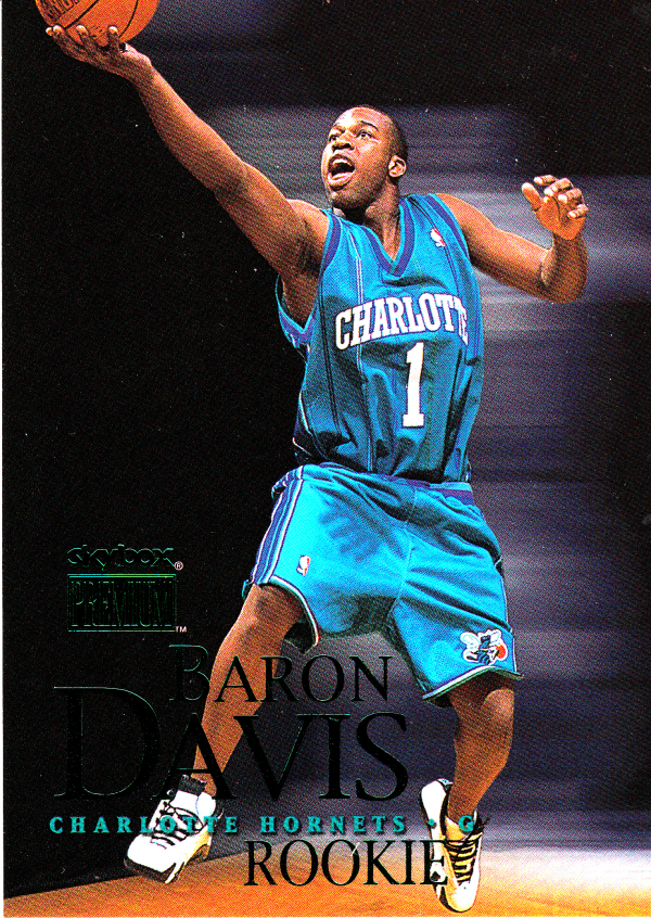 1999-00 SkyBox Premium #103A Baron Davis SP