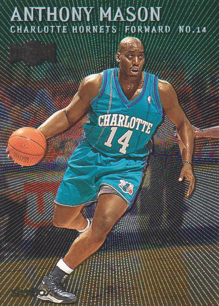 1999-00 Metal Emeralds #42 Anthony Mason