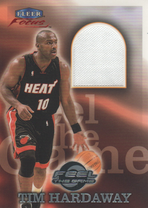 1999-00 Fleer Focus Feel the Game #5 Tim Hardaway