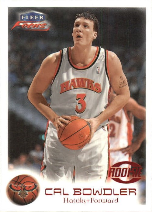 1999-00 Fleer Focus #104 Cal Bowdler RC