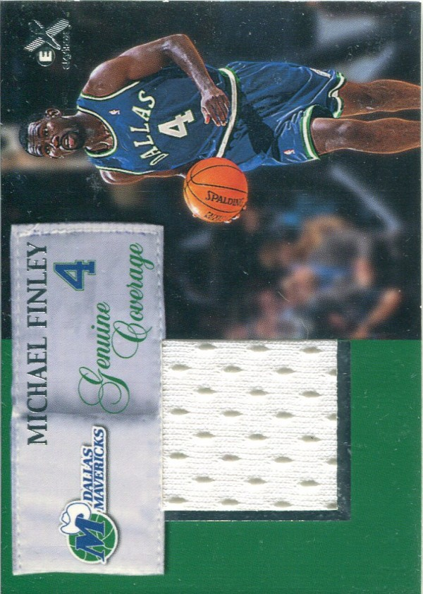1999-00 E-X Genuine Coverage #GC16 Michael Finley
