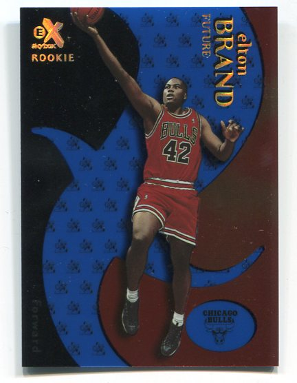 1999-00 E-X Essential Credentials Future #61 Elton Brand/30